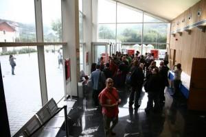 La entrada al evento