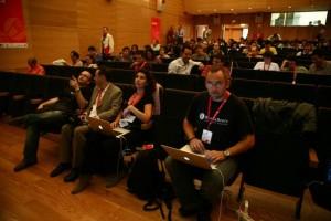 Wicho, Susana Alosete, Lluis Rull y Antonio Delgado en un momento del Euskadi 5.0