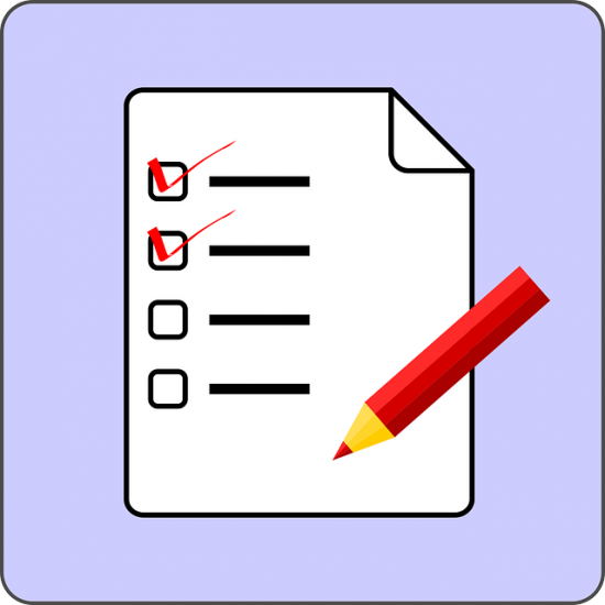 Imagen de una lista.