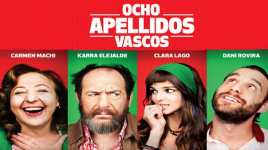 Póster promocional de la película española 'Ocho apellidos vascos'.